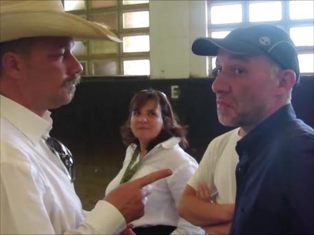 Jason Buckingham teaching horse compassion
