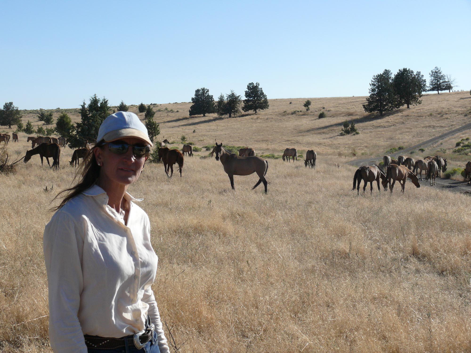 Elena Bajona Wild Horse Watching